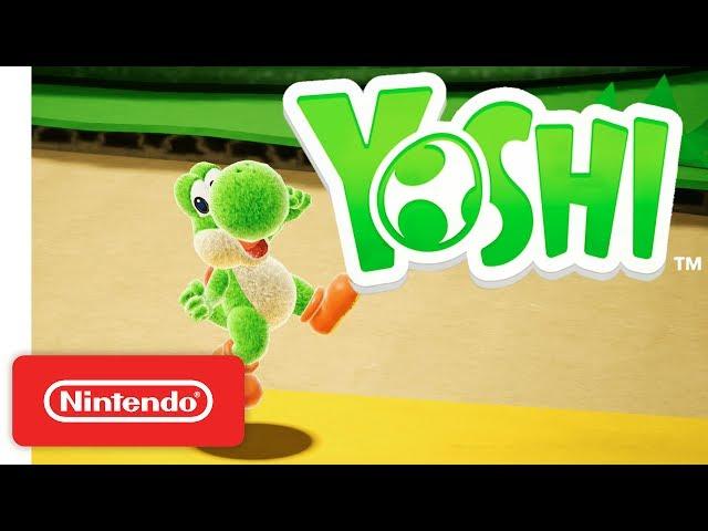 Yoshi for Nintendo Switch - Official Game Trailer - Nintendo E3 2017