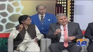 KHABARNAAK WITH AGHA AMJAD - 13 OCT 2017 -SHOCKING  MOMENTS WITH AYESHA JAHANZEB