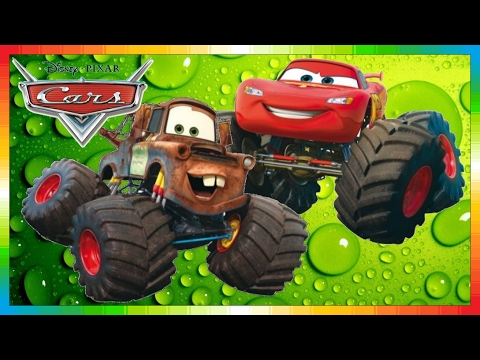 CARS Mater National Championship Hook International Monstertruck The Lightning McQueen