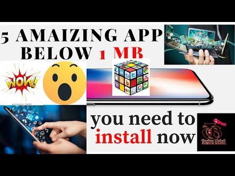 Xxx Mp4 Top 5 Secret Android Apps Under 1MB 2018 Dounload गर्नैपर्ने 5 महत्त्वपूर्ण App हरु हेर्नुस् 3gp Sex