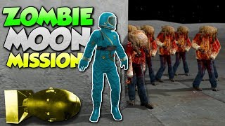 ZOMBIE MOON BASE MISSION!? - Garry