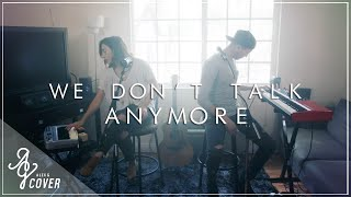 We Don't Talk Anymore By Charlie Puth Ft. Selena Gomez | Alex G & TJ Brown Cover (Loop Pedal)