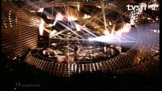 Shkëlqen Elhaida Dani. Performancë drithëruese në Eurovizion