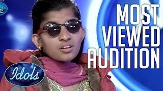NEPAL IDOL 2017 Menuka Paudel Most Viewed Audition   Idols Global