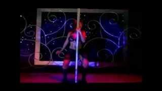 Myles Hernandez pole dancing
