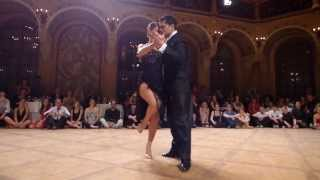 Sebastian Arce & Mariana Montes at Tango Amadeus 2013 (1) - Tango (Best Seat in the House) :)