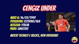 CENGIZ UNDER Benvenuto a Roma Goals, Skills, Assist 2017 NUOVO ACQUISTO AS ROMA