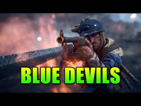 Loadout Blue Devils Riberolles 1918 Battlefield 1 Assault Gameplay