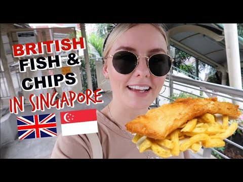 IS THIS THE BEST BRITISH FISH & CHIPS IN SINGAPORE?!