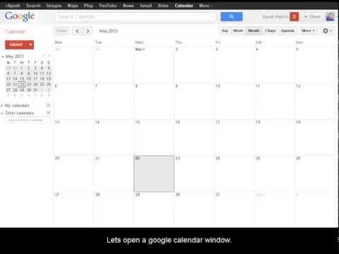 How to display week number in google calendar
