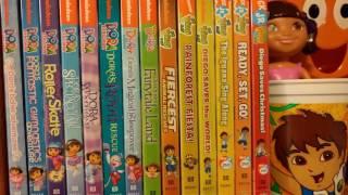 A Sneek Peek of Kiana's Dora the Explorer & Go Diego Go! DVD Collections Fail!