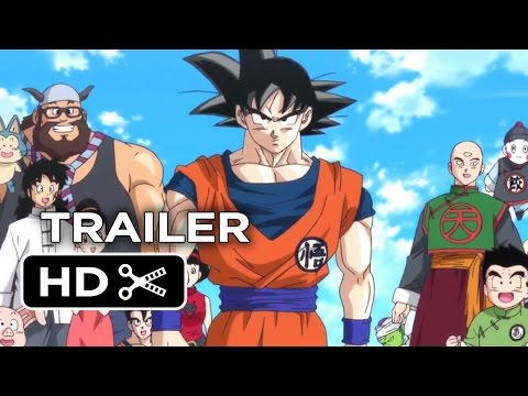 Dragon Ball Z Battle of Gods Official US Release Trailer 2014 Anime Action Movie HD