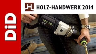 224. Holz-handwerk 2014 - Festool Wiertarka DR 20 E