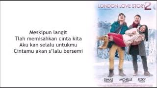 lirik lagu rossa - cinta dalam hidupku ost london love story 2