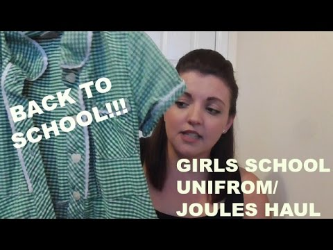 Girls school unifrom/joules clothing HAUL | Living the mummy life