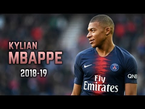 Kylian Mbappé 2018 19 Dribbling Skills & Goals