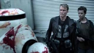 BATTLE OF THE DAMNED trailer: Dolph Lundgren vs. zombies vs robots