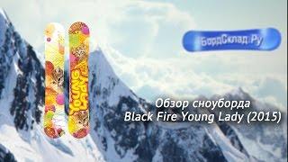 Обзор сноуборда Black Fire Young Lady 2015