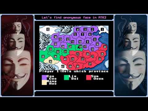 Let's search [Romance of the Three Kingdoms II SNES] for anonymous face