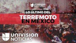 Informe Especial: Terremoto en México con magnitud 7.1