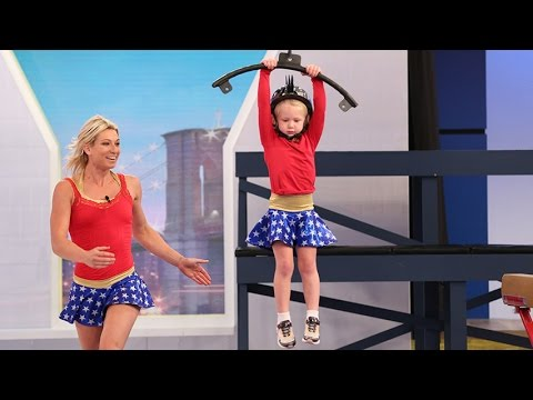 5 Year Old Crushes American Ninja Warrior Obstacle Course