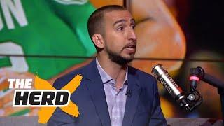 Nick Wright on LeBron vs Jordan after Game 3 vs Celtics, Durant