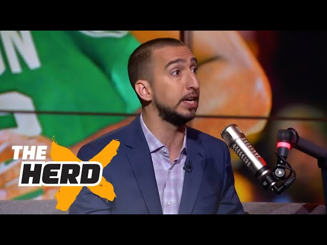 Nick Wright on LeBron vs Jordan after Game 3 vs Celtics, Durant's path to a NBA ring | THE HERD