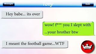 Funny Cheating Texts Messages Ever!