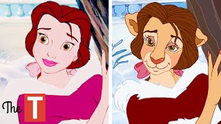 20 Disney Characters Reimagined As Animals
