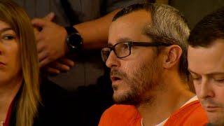 Tear Rolls Down Chris Watts' Cheek as He's Sentenced for Killing Wife, Kids