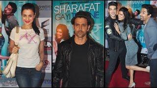 Hot Bollywood Actor, Hrithik Roshan Attends ex BIL, Zayed's Movie Screening