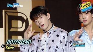 [Comeback Stage] BOYFRIEND - Star, 보이프렌드 - 스타 Show Music core 20170812