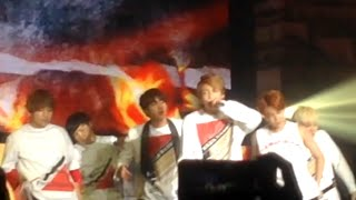 150808 BTS LIVE TRILOGY in Bangkok 'Episode II. The Red Bullet' - Tomorrow