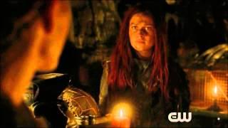 Clarke an Niylah   The 100 season 3 ep1