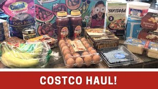 Costco Haul | 9.25.17