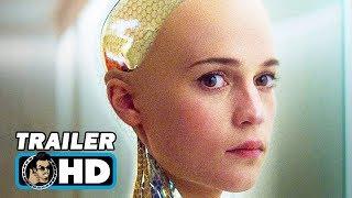 Ex Machina Movie TRAILER (2015) Oscar Isaac Sci Fi HD