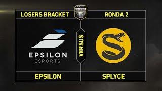 RONDA 2 - LOSERS BRACKET: EPSILON vs SPLYCE #CoDChampsLVP4