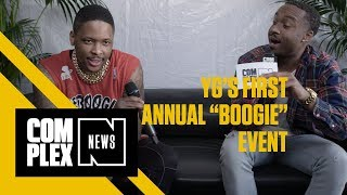 Nipsey Hussle & Belly Pull Up To YG's 'Boogie Event' At All-Star Weekend