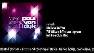 CD1 - 01 Hannah - I Believe In You (Ali Wilson & Tristan Ingram Full Fire Club Mix)