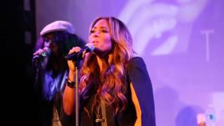 Tamia Performing