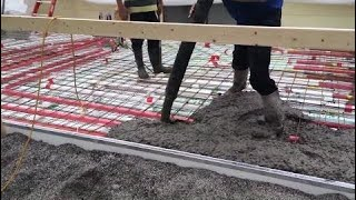 Latest Technology 2017 Concrete Pour Day Two New Buildings Work #ALN
