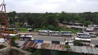 View from Mayabi House, Lalpol, Feni, Bangladesh