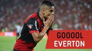 O gol de Everton contra o Santos