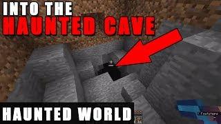 This Minecraft World is HAUNTED! (Scary)