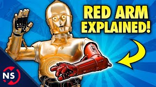 The Tragic Story of How C-3PO Got His RED ARM! (Star Wars) || Comic Misconceptions || NerdSync