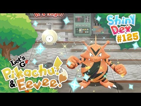Xxx Mp4 SHINY ELECTABUZZ AND MAGNEMITE In POKEMON LET S GO PIKACHU And EEVEE 3gp Sex