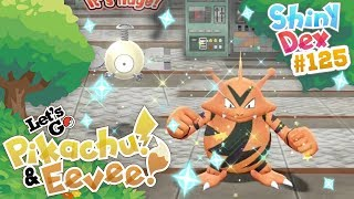 SHINY ELECTABUZZ AND MAGNEMITE in POKEMON LET
