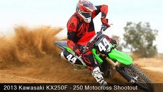 MotoUSA 2013 Kawasaki KX250F Motocross Shootout