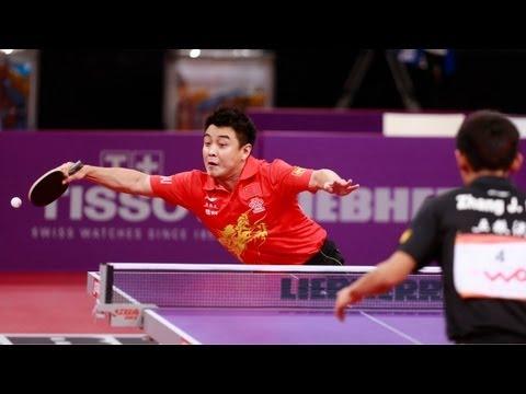 WTTC 2013 Highlights: Zhang Jike vs Wang Hao (Final)