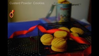 Tasty NO Oven Custard Powder Cookies     Easy Biscuits    ബിസ്ക്കറ്റ് ഇനി വീട്ടിൽ തന്നെ    Ep: 469